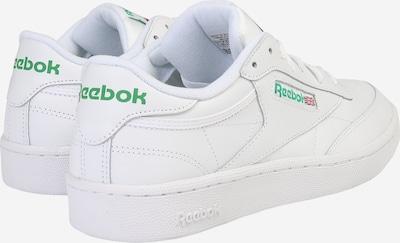 Reebok Classic Sneaker 'Club C 85' in weiß: Rückansicht