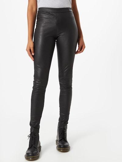 Pantaloni 'Lg Rio' CATWALK JUNKIE pe negru: Privire frontală