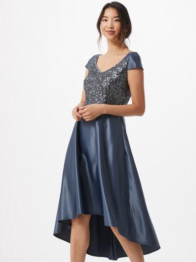 SWING Kokteilové šaty - indigo: Pohľad spredu