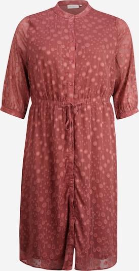ONLY Carmakoma Robe-chemise en rouge, Vue avec produit