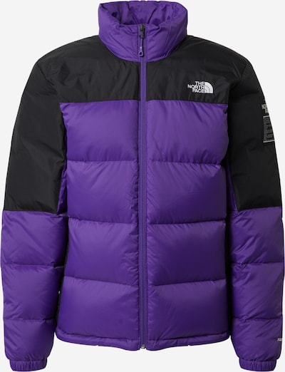THE NORTH FACE Sportjacke 'DIABLO' in dunkellila / schwarz / weiß, Produktansicht