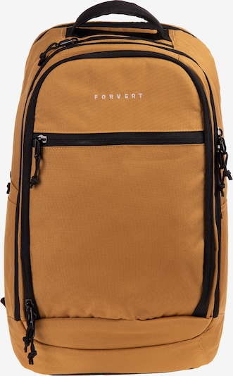 Forvert Rucksack 'Leo' in goldgelb / schwarz, Produktansicht