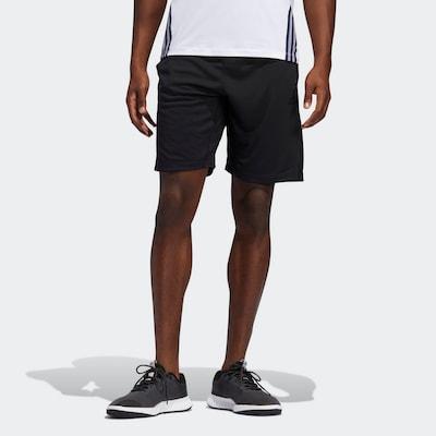 fekete / fehér ADIDAS PERFORMANCE Sportnadrágok, Modell nézet