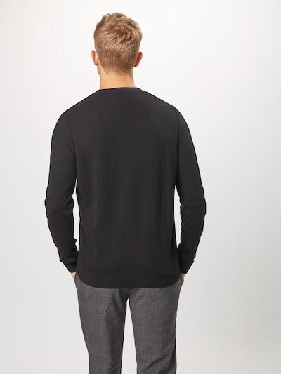 Megztinis 'SLHDANIEL CREW NECK B NOOS' iš SELECTED HOMME , spalva - juoda: Vaizdas iš galinės pusės