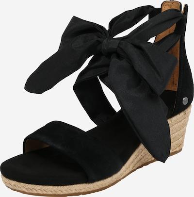 UGG Sandalen met riem 'Trina' in de kleur Zwart, Productweergave