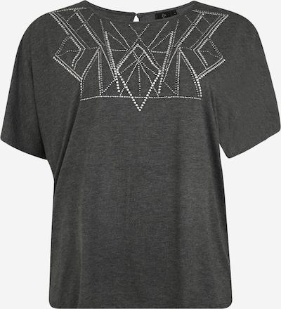 Zay Shirt 'YALVIRA' in graumeliert, Produktansicht