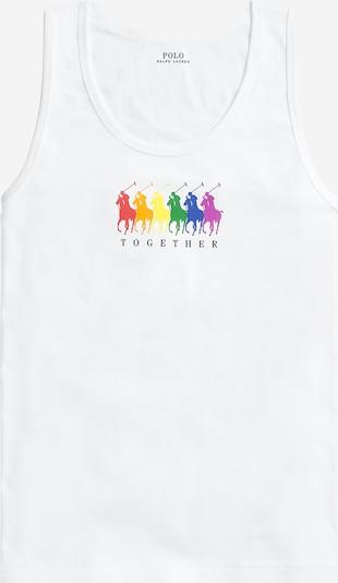 POLO RALPH LAUREN Majica 'PRIDE TANK-SLEEVELESSKNIT' | bela barva, Prikaz izdelka