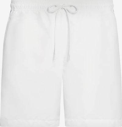 Calvin Klein Swimwear Badeshorts - 'Core Logo' in weiß, Produktansicht