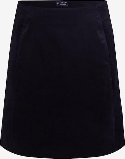 fekete re.draft Szoknyák 'Velvet Skirt', Termék nézet