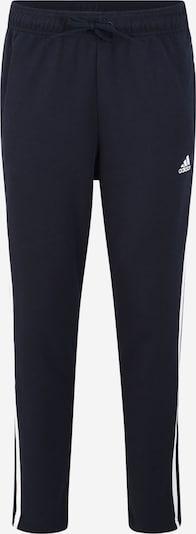 ADIDAS PERFORMANCE Sportske hlače u tamno plava / bijela, Pregled proizvoda