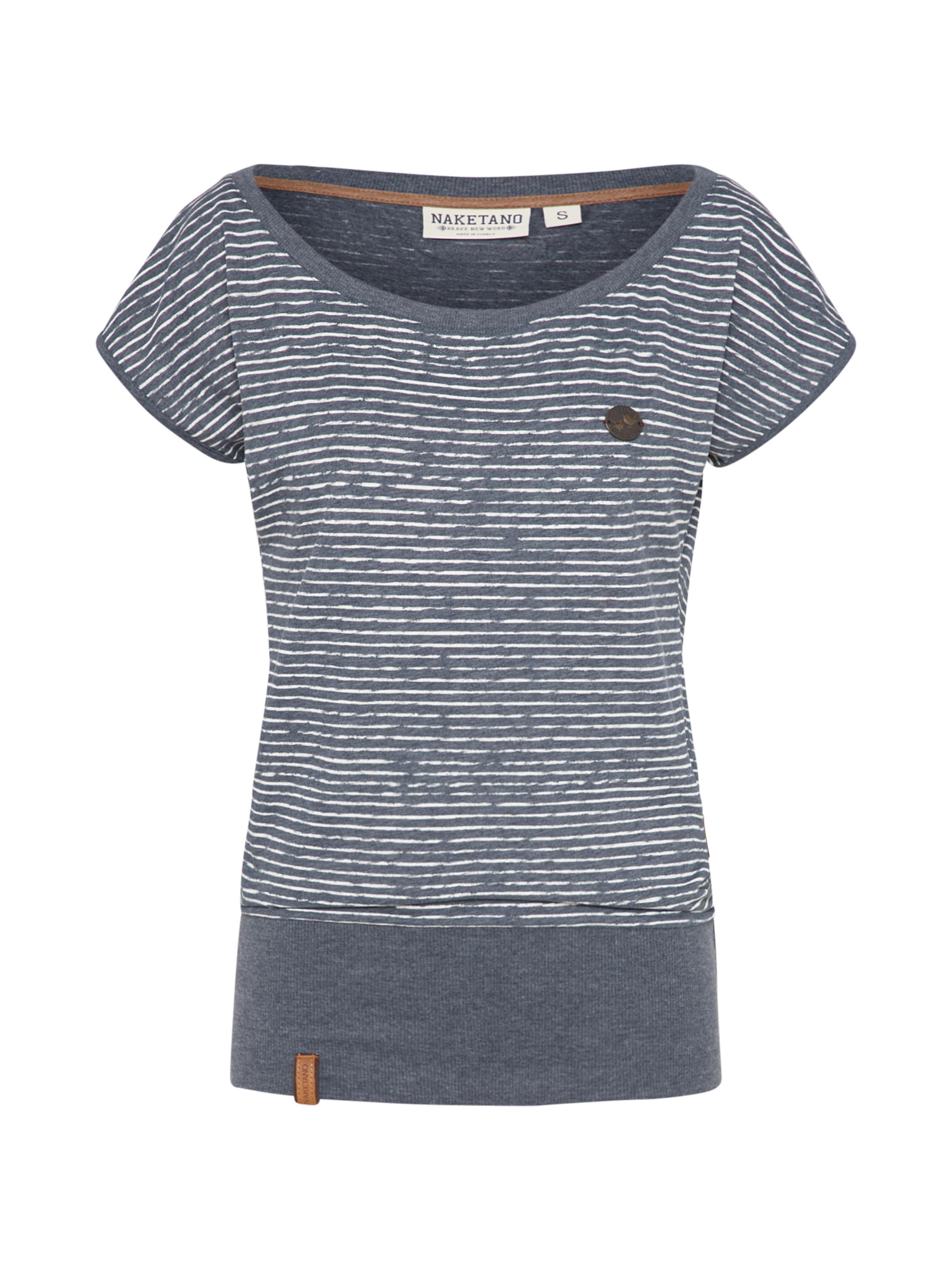 Dizzy' En T 'wolle Bleu shirt Naketano 5jqc4AS3LR