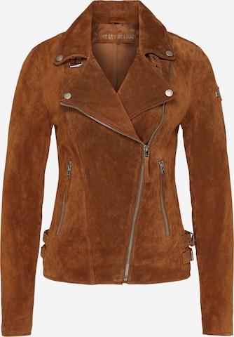 FREAKY NATIONPrijelazna jakna - smeđa boja