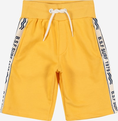 STACCATO Broek in de kleur Geel / Zwart / Wit: Vooraanzicht