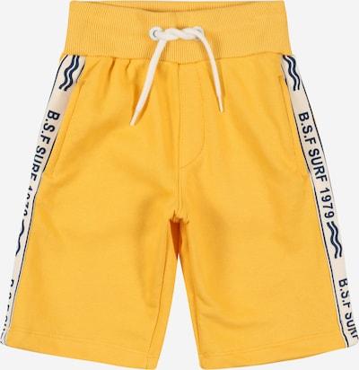 Pantaloni STACCATO pe galben / negru / alb, Vizualizare produs