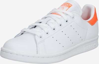 ADIDAS ORIGINALS Baskets basses 'Stan Smith' en orange / blanc, Vue avec produit