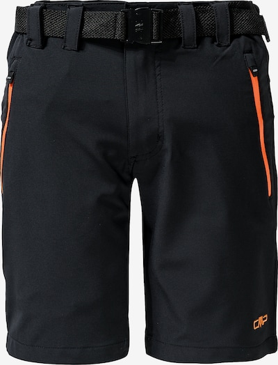 CMP Shorts in anthrazit / orange, Produktansicht