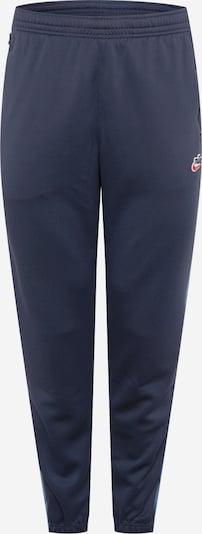 Pantaloni 'Heritage' Nike Sportswear di colore blu chiaro / blu scuro / bianco, Visualizzazione prodotti