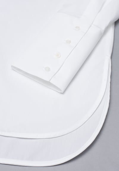 ETERNA Bluse in weiß: Frontalansicht