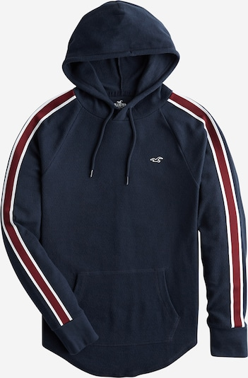 HOLLISTER Sweatshirt 'TAPED WAFFLE HOODS' in navy, Produktansicht