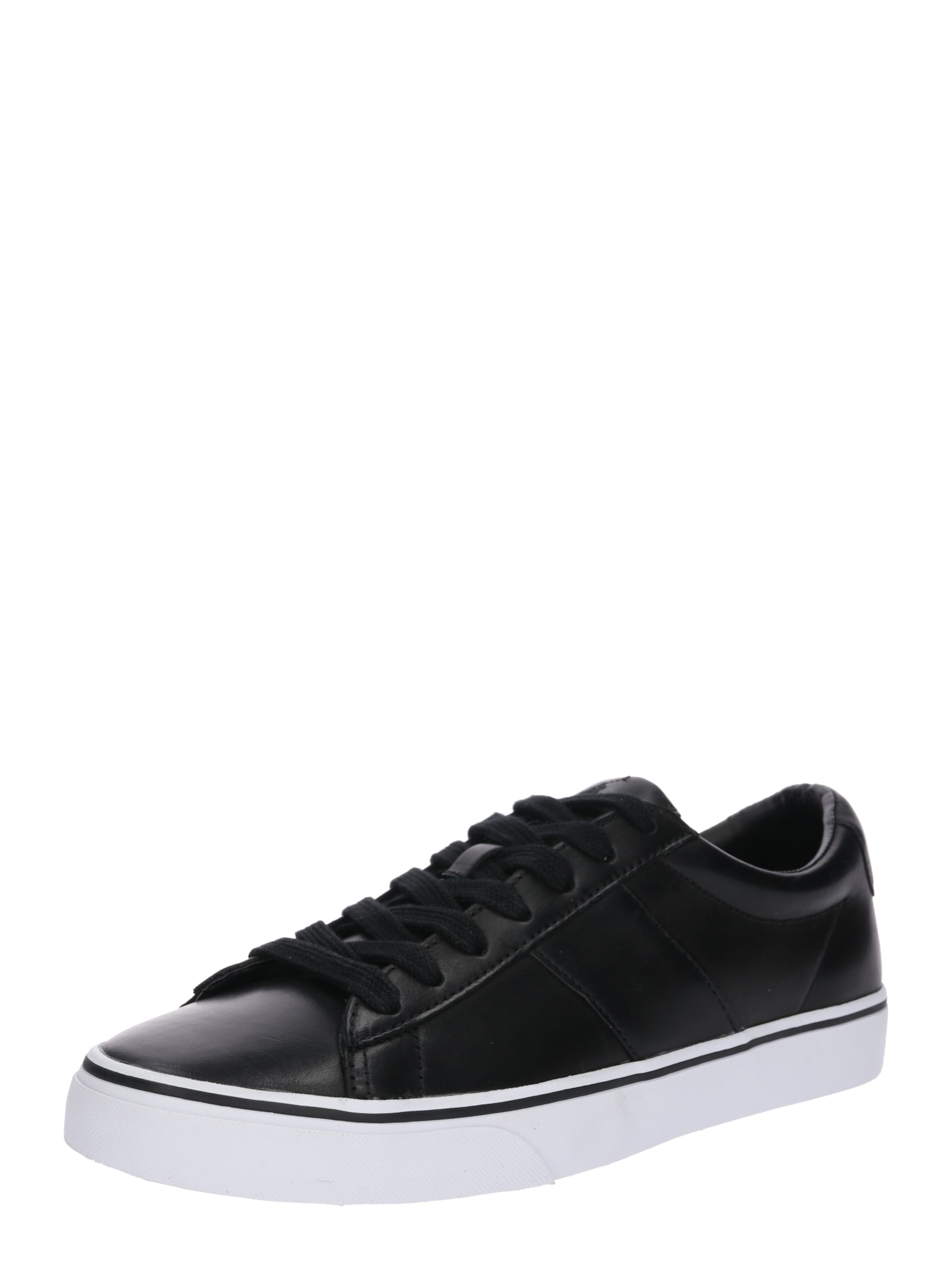 Ralph Sneaker In Leather' Nachtblau 'sayer Lauren Polo MqSzpUV
