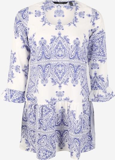 Vero Moda Curve Robe d'été 'VMBOKI' en bleu / blanc, Vue avec produit