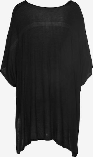 LASCANA Strickponcho in schwarz, Produktansicht