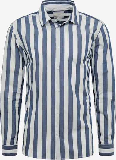minimum Hemd 'topper 6680' in dunkelblau / weiß, Produktansicht