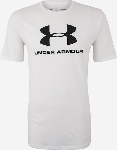 UNDER ARMOUR Ikdienas krekls melns / balts, Preces skats
