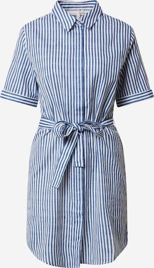 PIECES Robe-chemise en bleu clair / blanc, Vue avec produit