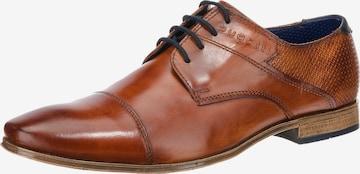 Chaussure à lacets bugatti en marron