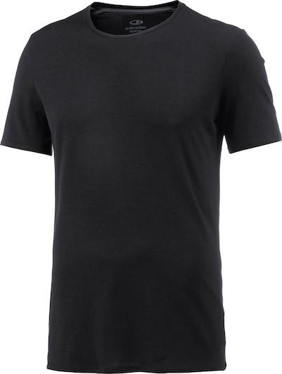 ICEBREAKER Anatomica Unterhemd Herren in schwarz, Produktansicht