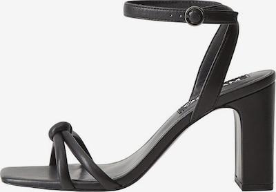 MANGO Sandale s remenčićima u crna, Pregled proizvoda