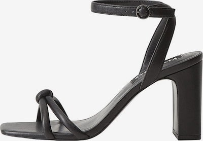 MANGO Remienkové sandále - čierna, Produkt