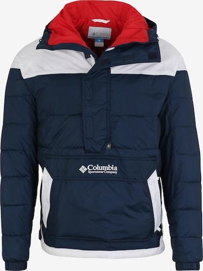 COLUMBIA Zimska jakna 'M Columbia Lodge PO Jack' | mornarska / bela barva, Prikaz izdelka