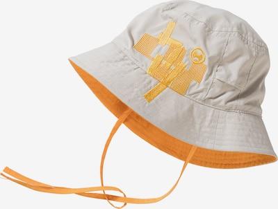 HYPHEN Hut in hellgrau / orange, Produktansicht