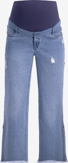 Supermom Jeans in blue denim, Produktansicht