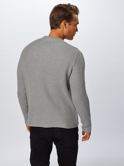 Only & Sons Pull-over 'HANSEN' en gris: Vue de dos