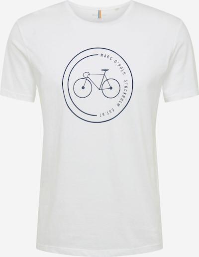 Marc O'Polo Koszulka 'Organic' w kolorze czarny / białym, Podgląd produktu