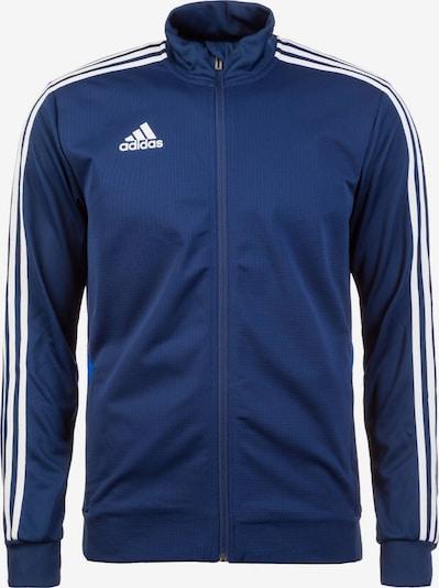 ADIDAS PERFORMANCE Trainingsjacke 'Tiro 19' in dunkelblau / weiß, Produktansicht