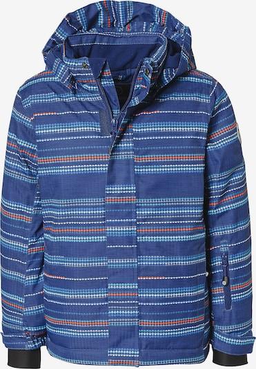 COLOR KIDS Skijacke 'Dartwin' in blau / himmelblau / rot / weiß, Produktansicht