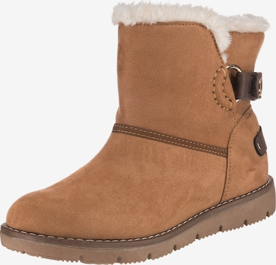TOM TAILOR Snow boots in Light brown, Item view
