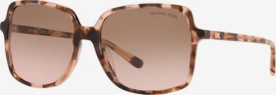 Michael Kors Sunčane naočale 'ISLE OF PALMS' u smeđa / roza, Pregled proizvoda