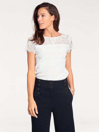 heine Bluza | bela barva, Prikaz modela