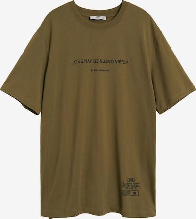 MANGO MAN Shirt 'VIEJO' in de kleur Kaki, Productweergave