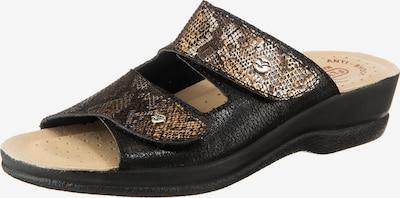 FLY FLOT 391187 Komfort-Pantoletten in gold, Produktansicht