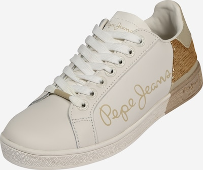 Pepe Jeans Sneaker 'BROMPTON SEQUINS' in gold / weiß, Produktansicht
