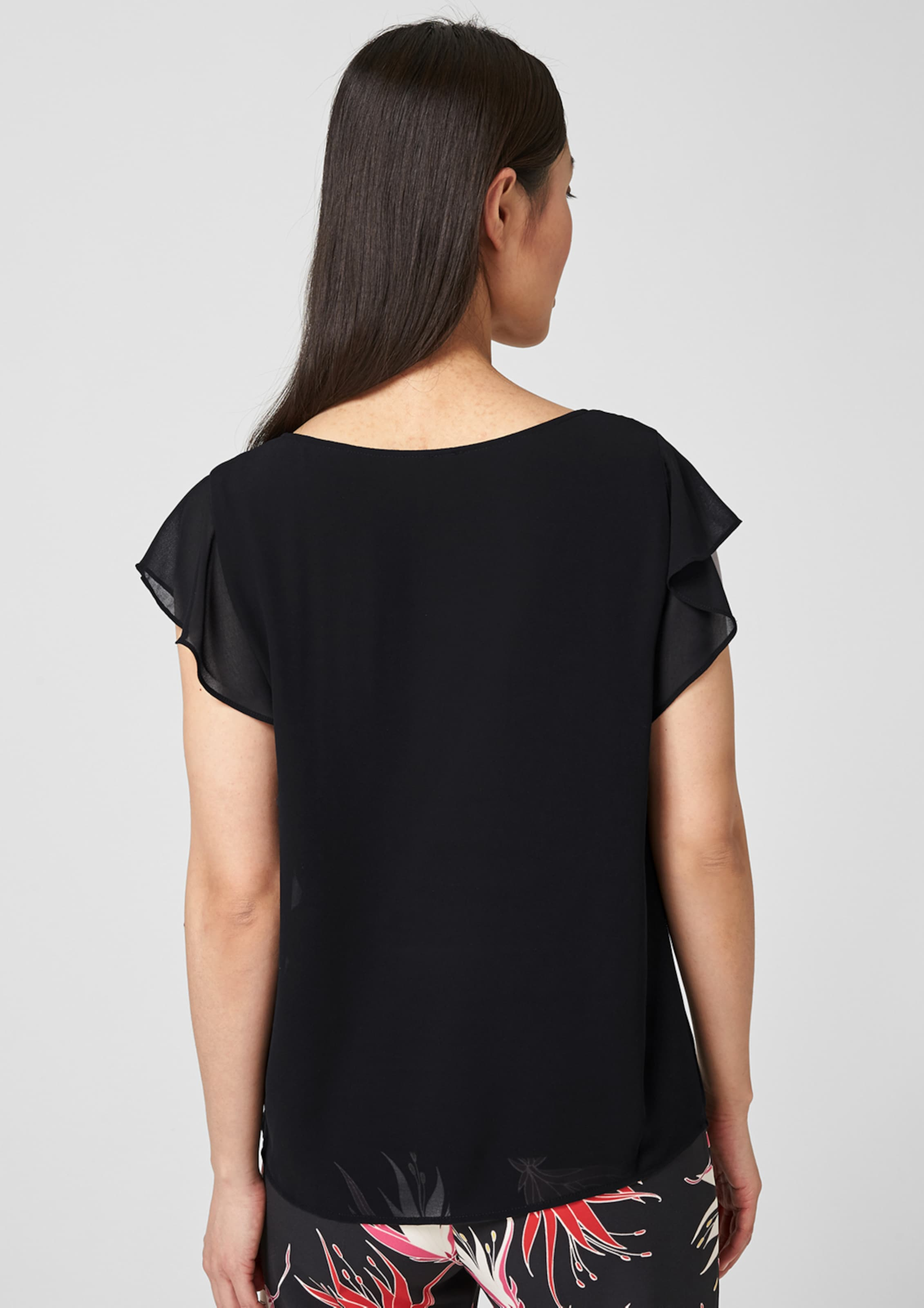 Black Shirt In Schwarz S oliver Label kTOuPXZi