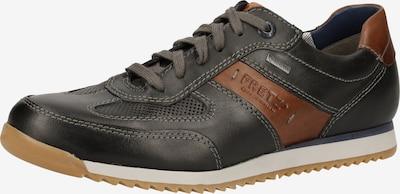 FRETZ MEN Sneaker in cognac / umbra: Frontalansicht