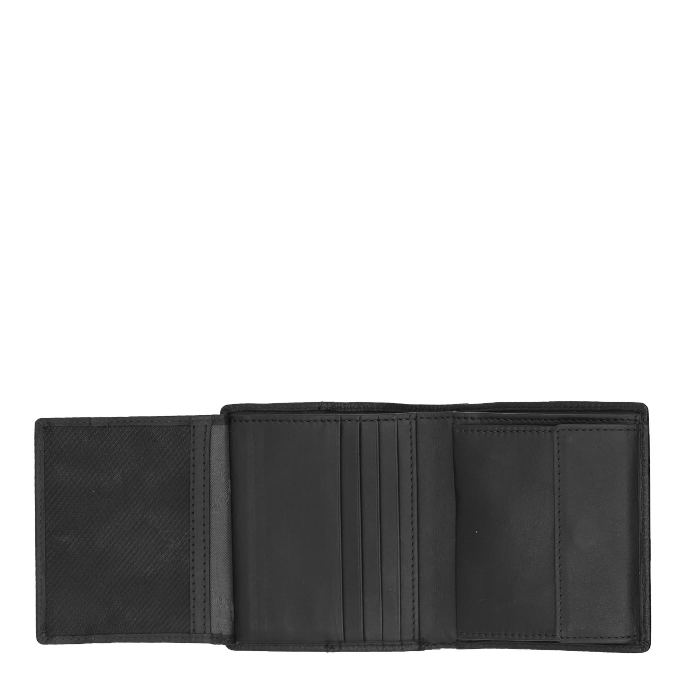 Geldbörse In Büffel Braun 1cs' Schwarz 'varese 8wnPkO0
