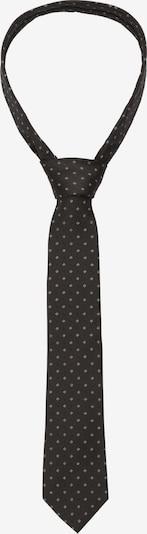 SEIDENSTICKER Krawatte 'Schwarze Rose' in schwarz / weiß, Produktansicht
